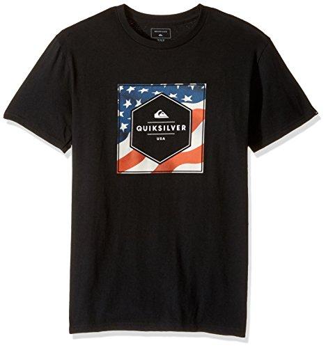 Quiksilver -  T-shirt - Uomo Black
