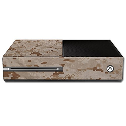 MightySkins Skin For Microsoft Xbox One - Desert Camo | Protective, Durable, and Unique Vinyl Decal wrap cover | Easy To Apply, Remove, and Change Styles | Made in the USA ()