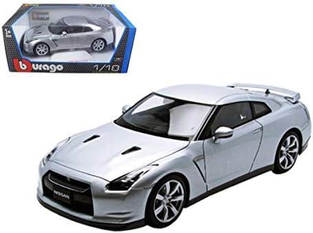 BBURAGO 18-12079 2009 09 NISSAN SKYLINE GT-R GTR R35 1//18 DIECAST CAR SILVER