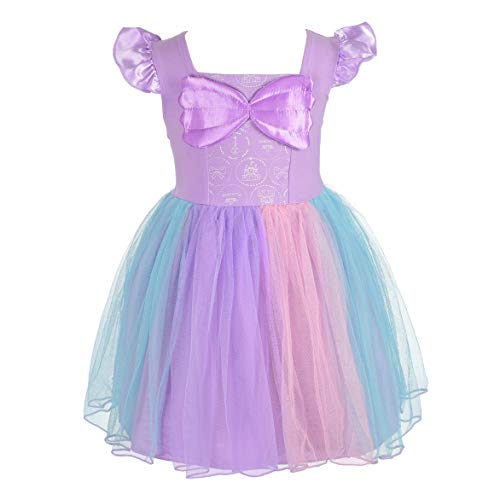 Dressy Daisy Mermaid Dress for Toddler Girls Halloween Fancy Party Costume Dress Size 2T -