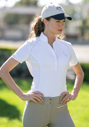 Goode Rider Iconic Show Shirt White (S) ()