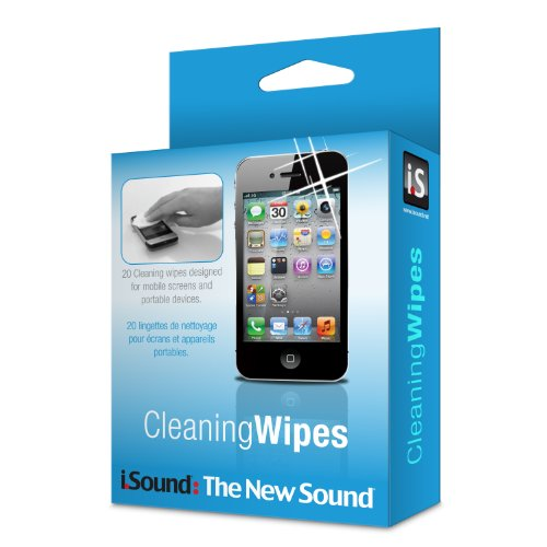 iSound Cleaning Wipes