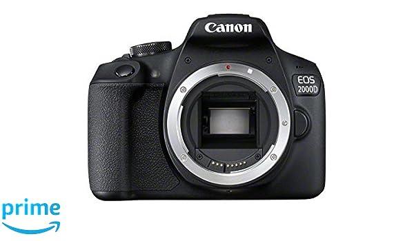 Canon EOS 2000D DSLR - Cámara de Fotos: Amazon.es: Electrónica