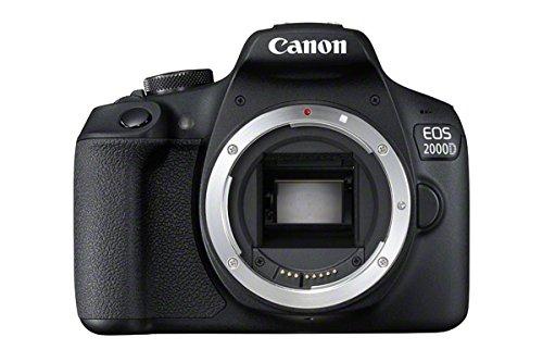Canon Eos 2000 D DSLR Digital Camera Body  Black  Digital Cameras