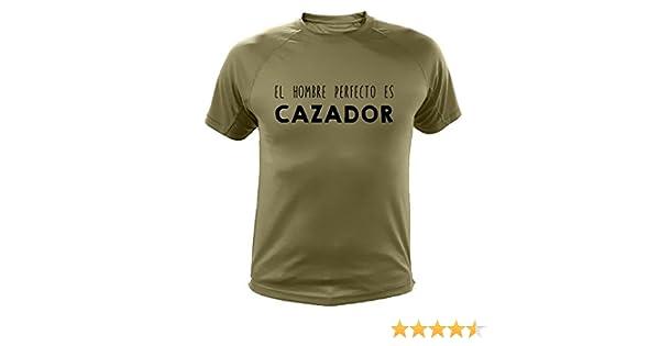 Camiseta de Caza, El Hombre Cazador - Ideas Regalos (30178, Verde, 3XL): Amazon.es: Deportes y aire libre