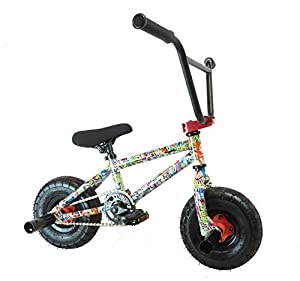 New Limited Edition 1080 Kids Stunt Freestyle Grafitti Mini Bmx