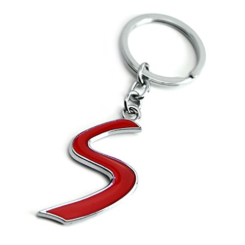 iJDMTOY Chrome Polished Ally Metal Red S Sport Key for sale  Delivered anywhere in Canada