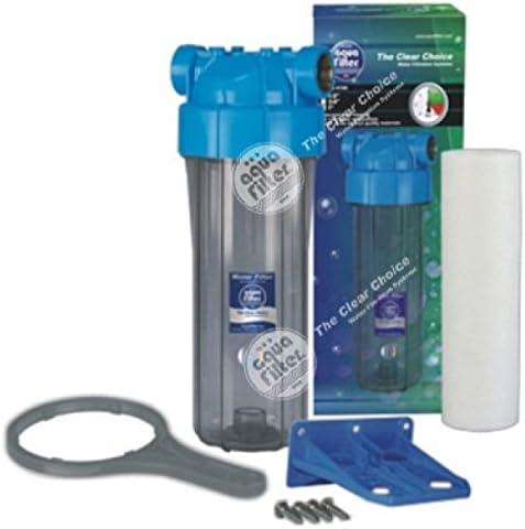 Kartusche Entl/üfter Montageplatte FHPR34-B1-AQ.-SET 10 zweiteilige Geh/äuse H10B,blauer Kopf 3//4 Schl/üssel durchsichtige Tasse