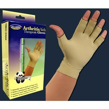 Bell-Horn Arthritis Aids Therapeutic Gloves (Item #384XL) One Pair - Extra-Large by Bell-Horn