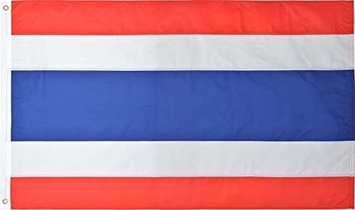 Thai National Flag Nylon 3 Ft x 5 - Airways Ms