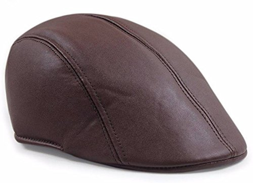 FRIENDSKART Brown Leather Golf Cap For Men s And Women s  Amazon.in   Clothing   Accessories 8184d53bc45