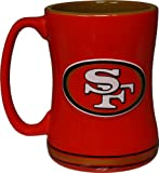 NFL Sculpted Coffee Mug, 14  Ounces, San Francisco 49ers