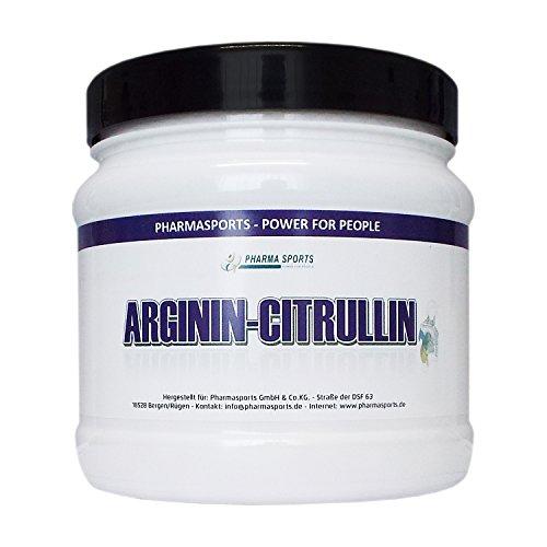 L-ARGININ-CITRULLIN 4400 mg Hochdosiert 240 Kapseln - 2 bis 4 Monatskur deutsches Qualitätsprodukt