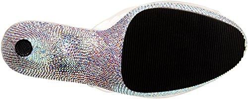 Plateausandalen Pleaser Transparent Slv Multi Bejeweled Rs Damen 712rs Clr CUqxwqTtr