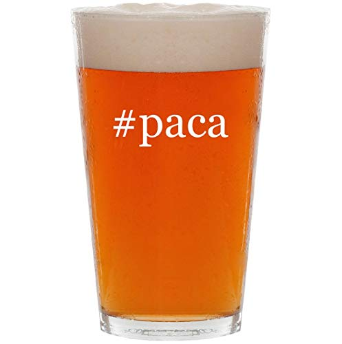 #paca - 16oz Hashtag Pint Beer Glass for sale  Delivered anywhere in USA