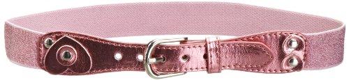 Playshoes Mädchen Gürtel 601302 Elastischer Mädchen Gürtel mit Glitter und Pailletten, Gr. 65, Rosa (pink)