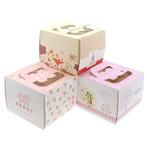 Boxes Window Birthdays Cake 5 inch ()