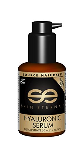 Source Naturals Skin Eternal Hyaluronic Serum, Will Leave Skin Feeling Soft and Replenished, 1.7 Ounce (Best Natural Skin Serum)