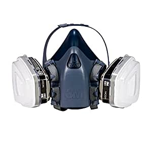 3M R-7513ES Professional Half-Mask Organic Vapor, P95 Respirator, Large