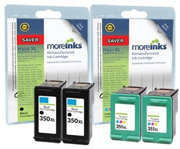 4 cartuchos de tinta para impresora HP Photosmart C4400 2 ...