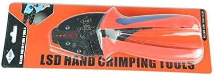 ZHTY Crimping pliers Hand Crimping Tools for Crimping Coaxical Cables 6.5mm,5.46mm,3.46mm,1.72mm Ratchet Pliers Crimping tool