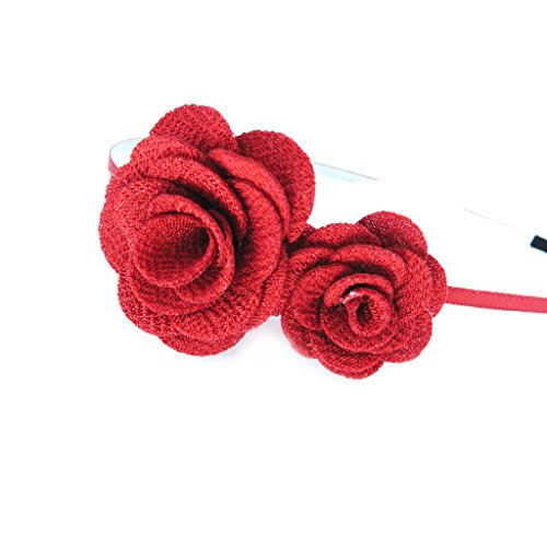 Les Trésors De Lily [L6391] - Serre-Tête créateur 'Scarlett' rouge