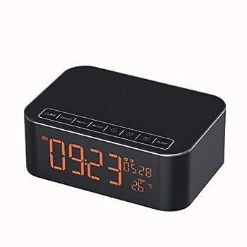 Fly Subwoofer Alarm Clock Radio Smartphone Card Wireless Mini Speaker Speaker