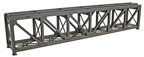 Walthers Trainline 109' Single-Track Pratt Deck Truss Railroad Bridge - Kit Train Collectable Train