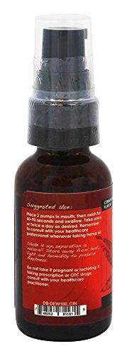 Dixie Hemp Extract Oil with Conjugated Linoleic Acid (CLA) - Cinnamon Flavor 1oz/30ml Hemp Supplement