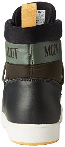 Ocra mujer Moon Nero de Material G Oliva Boot para Neil Botas Sintético x10PZqg1w