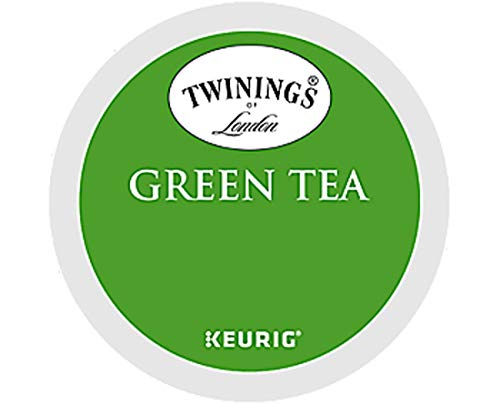 Keurig Tea and Ice Tea Pods K-Cups 18/22 / 24 Count Capsules ALL BRANDS/FLAVORS (Twinings/Chai/Celestial/Lipton/Tazo/Diet Snapple) (24 Pods Green Tea) -  Globalpixels