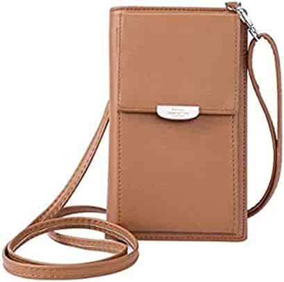 Kukoo Small Crossbody Bag Cell Phone Purse Wallet with Credit Card Slots  for Women 67f15eb9ff57f