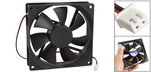 Amazon.com: CWC-GROUPÂ 90mm x 25mm DC 12V 2 Terminals Cooling Fan for Computer CPU Case: Computers & Accessories