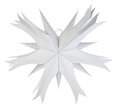 UPC 639713679984, Quasimoon White Fish Jhalar Multipointer Star Lantern by PaperLanternStore