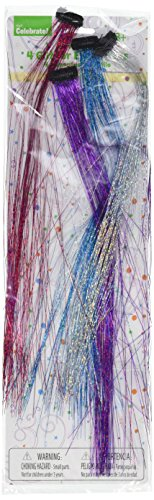 Kole Imports Glitter Hair Extensions Party Favors from Kole Imports