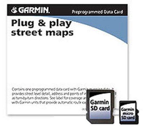 Amazoncom Garmin City Navigator For Detailed Maps Of The United - Garmin maps for united kingdom