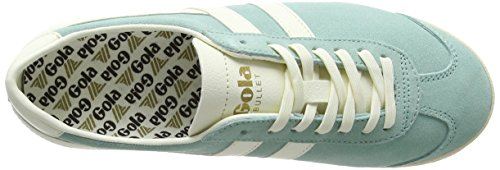 Mint Botines Bullet Verde off Gola Para Mujer pastel Suede White q0E77wxR