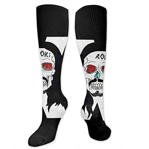 Steve Aoki Halloween (Steve Aoki Long Socks Halloween Print Long Socks For Girls Boys Ladies Men Student Daily Party)