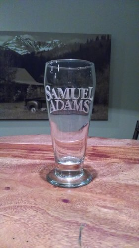 Samuel Adams Footed Pilsner Glass