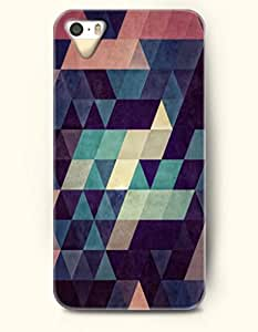 OOFIT Phone Skin Apple iPhone case for iPhone 5 5s ( 5C EXCLUDED ) -- Retro Geometric Pattern