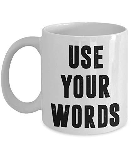 PixiDoodle Motivational Kindness Free Speech Coffee Mug (11 oz, White)