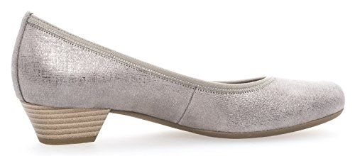 Gabor Womens Shoes 65.423.02 Donne Pumps Con Superficie Allargata Torba