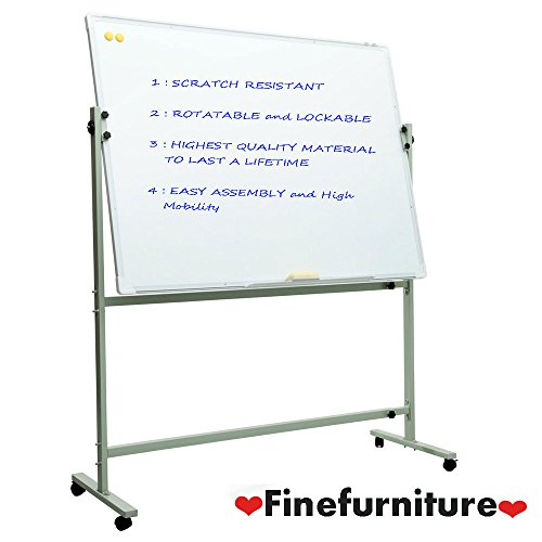 Magnetic Mobile Whiteboard with Stand for office Presentation and School (3624)