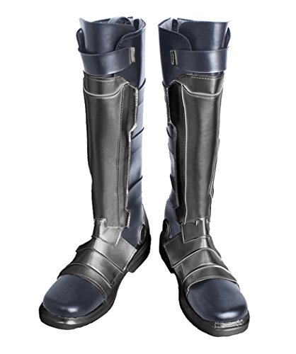 Dahee Halloween Cosplay Shoes Costume accessories Boots For Mens Womens (Male US 9.5, Soldier (Halloween Accessories Boots)