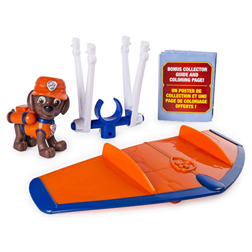 PAW Patrol Ultimate Rescue Zuma's Mini Hang Glider with Collectible Figure, Ages 3 and Up