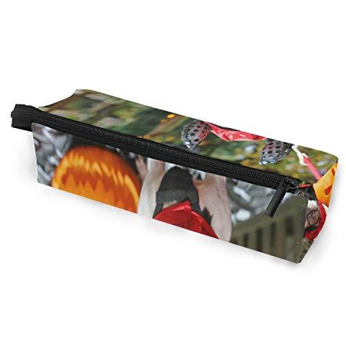 Beautiful Devil Dress Up Glasses Case Portable Soft Sunglasses Pen Bag Protective Purse]()