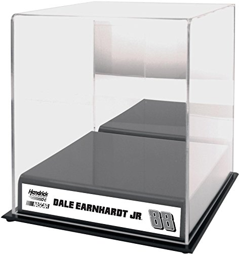 Dale Earnhardt Jr #88 Hendrick Motorsports Sublimated Logo Acrylic Mini Helmet Case - Fanatics Authentic Certified