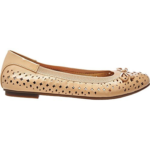 Womens Surin Ballet Flat Nude Size 8.5 Wide
