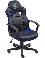 Cadeira Gamer Mad Racer Sti Master Preto Com Azul - Madstimsaz, PCYES, MADSTIMSAZ, Preto/Azul