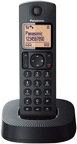 Comprar Panasonic KX-TGC310 - Teléfono Fijo Inalámbrico (LCD, Identificador De Llamadas, 16H Uso Continuo, Localizador, Agenda De 50 números, Bloqueo Llamada, Modo ECO, Reducción Ruido), Color Negro